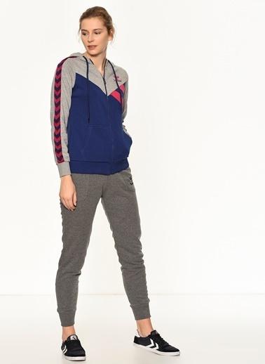 Hummel Kapüşonlu Fermuarlı Sweatshirt Lacivert
